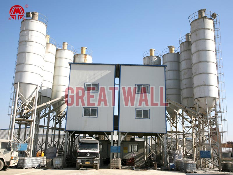 Cement Ready Mix Plant : Ready mix concrete plant mixed batching