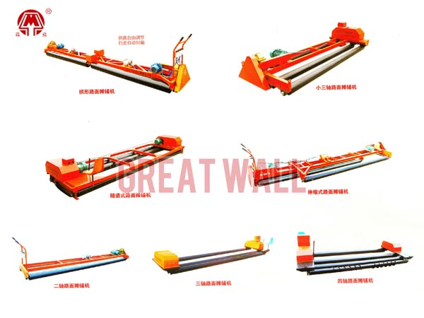 Concrete Pavement Leveling Machine