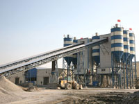Double HZS120  Commercial Concrete Batching Plant Built in Khabarovsk,Southern Siberia,Russia