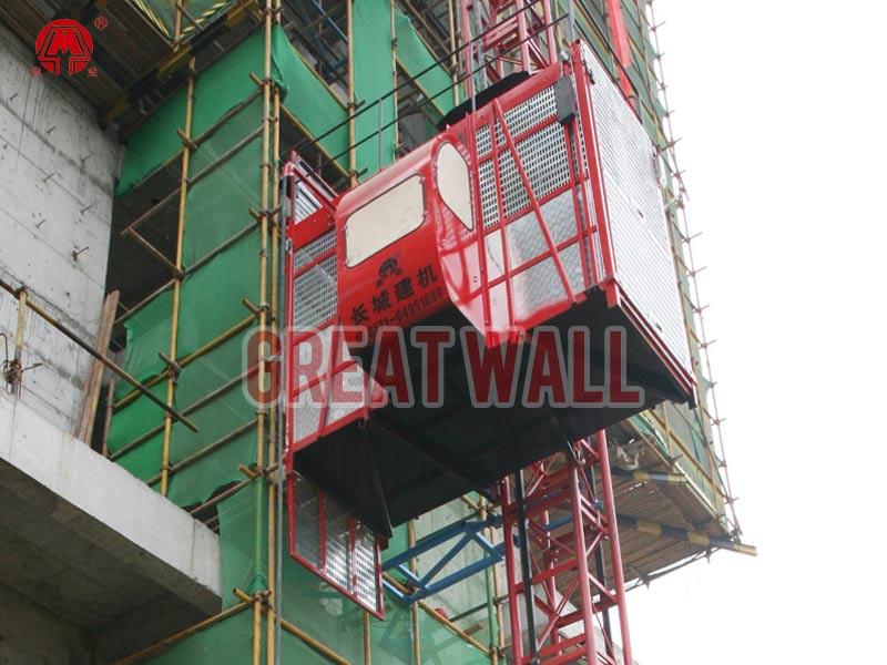 building construction lifts