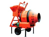 JZM mobile concrete mixer