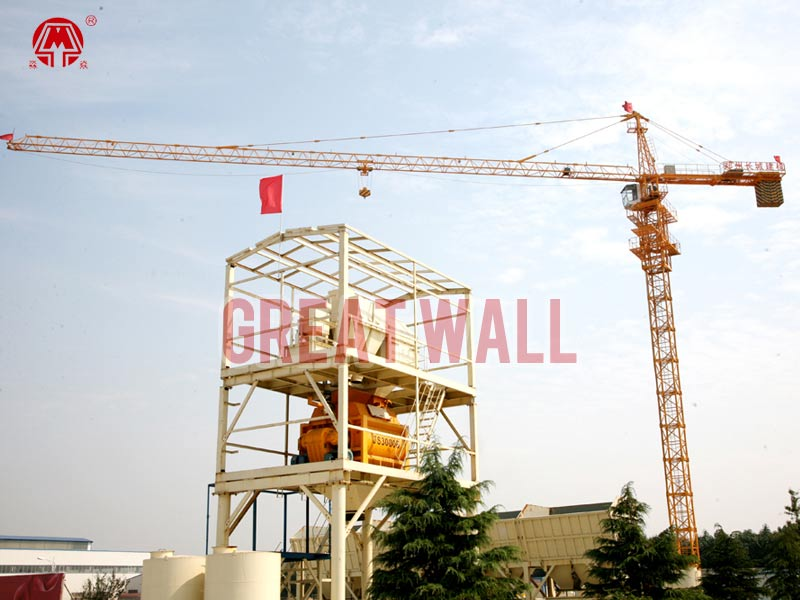 Self Erection Tower Crane